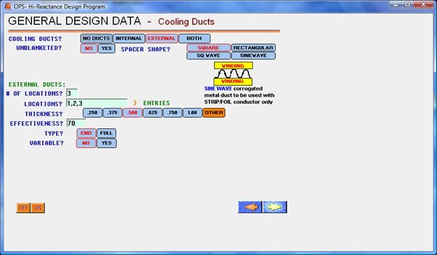 Cooling Ducts Software
